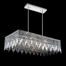Load image into Gallery viewer, 10 LIGHT DOWN CHANDELIER WITH CHROME FINISH - Dream art Gallery