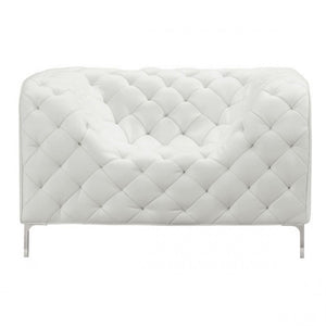 Providence Arm Chair White - Dream art Gallery
