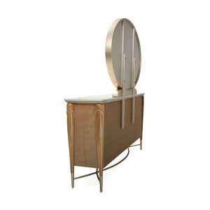VILLA CHERIE - CARAMEL Dresser & Mirror(just dresser) - Dream art Gallery