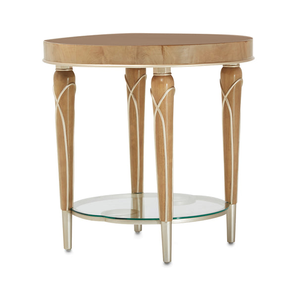 Villa Cherie End Table Caramel - Dream art Gallery