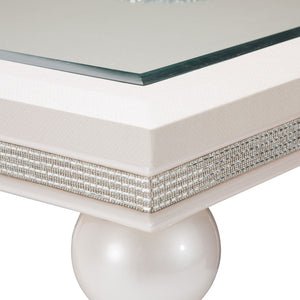 GLIMMERING HEIGHTS 4 Leg Dining Table - Dream art Gallery