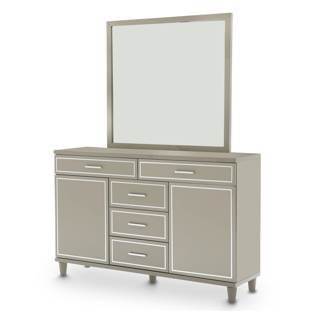Urban Place Dresser W/Mirror - Dream art Gallery