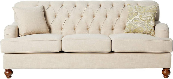 8380-3 Sofa Natural Linen-like - Dream art Gallery