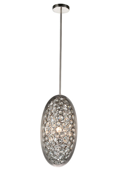 3 LIGHT MINI PENDANT WITH SATIN NICKEL FINISH - Dream art Gallery