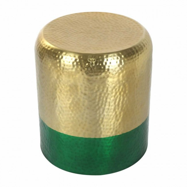 Mia Accent Table Gold & Green - Dream art Gallery