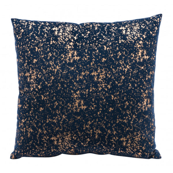 Night Pillow Blue & Gold - Dreamart Gallery
