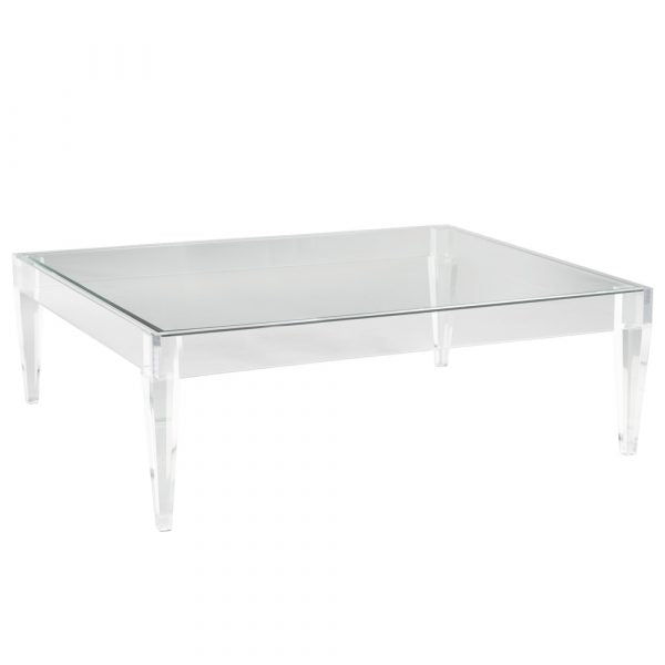 Avalon Acrylic Rectangle Coffee Table