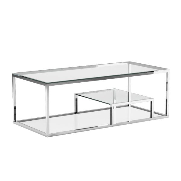 Barolo Steel Coffee Table