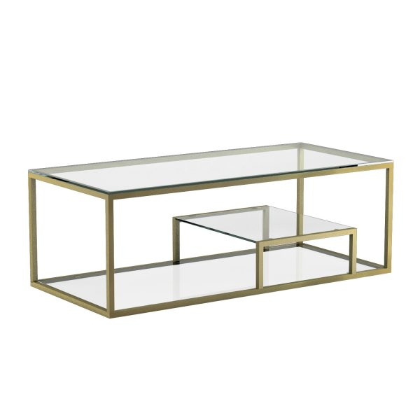 Barolo Gold Coffee Table - Dream art Gallery
