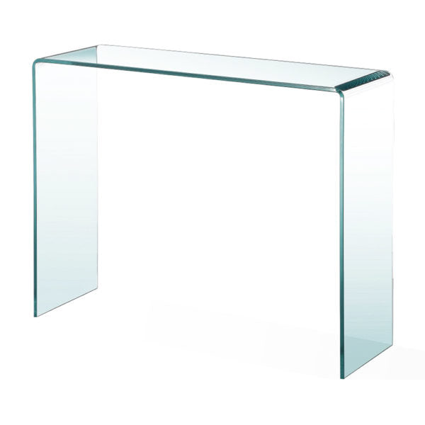 Bent Glass Console Table - Dream art Gallery