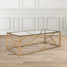 Load image into Gallery viewer, Carole Gold Coffee Table - Dream art Gallery