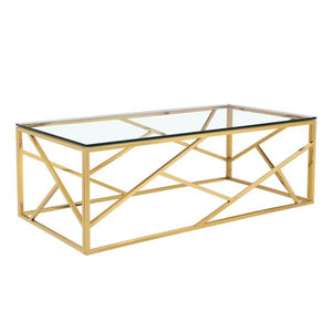 Carole Gold Coffee Table - Dream art Gallery
