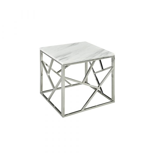 Carole Marble End Table - Dreamart Gallery