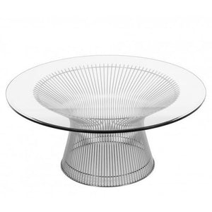 Coco Silver Coffee Table 32″