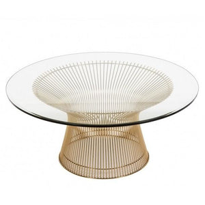Coco Gold Coffee Table 32″ - Dream art Gallery