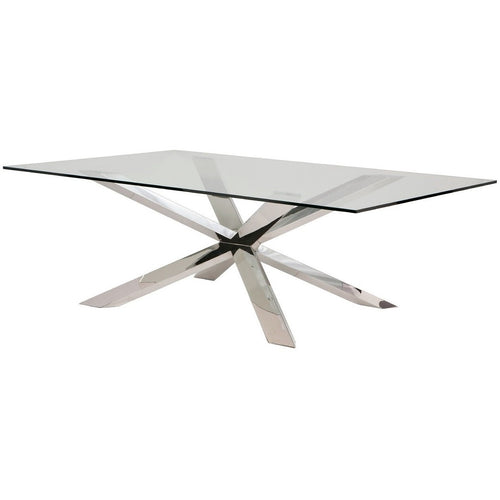 Chrome Culture Dining Table
