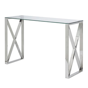 X Leg Console Table - Dream art Gallery