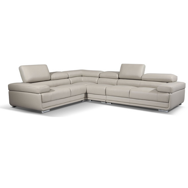 Collection: ESF Extravaganza Collection Sectional light gray - Dream art Gallery