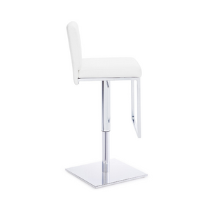 134B bar stool white - Dreamart Gallery