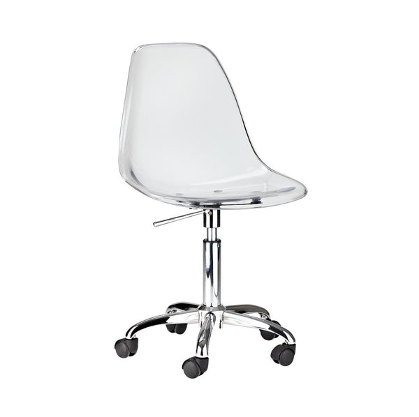 Eiffel Clear Office Chair - Dreamart Gallery