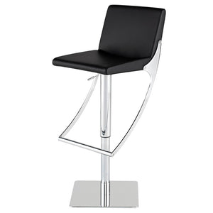 SWING ADJUSTABLE STOOL BLACK - Dream art Gallery