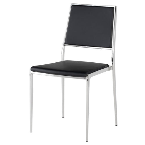 AARON DINING CHAIR BLACK