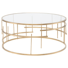 Load image into Gallery viewer, TIFFANY COFFEE TABLE GOLD - Dreamart Gallery