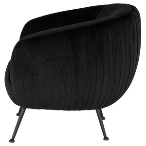 SOFIA OCCASIONAL CHAIR BLACK - Dream art Gallery