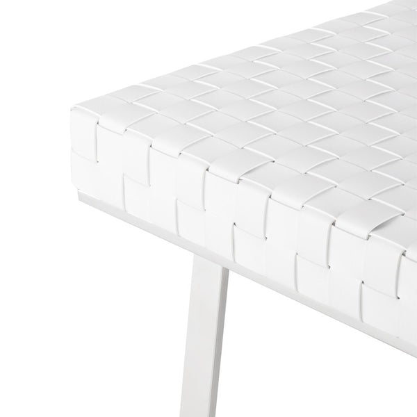 KARLEE BENCH WHITE