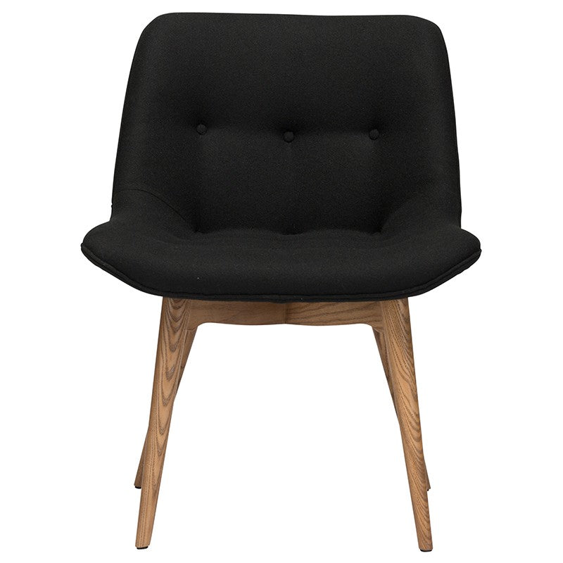 BRIE DINING CHAIR BLACK - Dream art Gallery