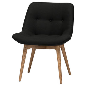 BRIE DINING CHAIR BLACK