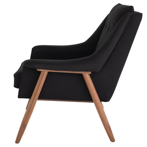 GRACE OCCASIONAL CHAIR BLACK - Dreamart Gallery