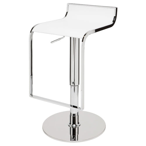 ALEXANDER ADJUSTABLE STOOL WHITE
