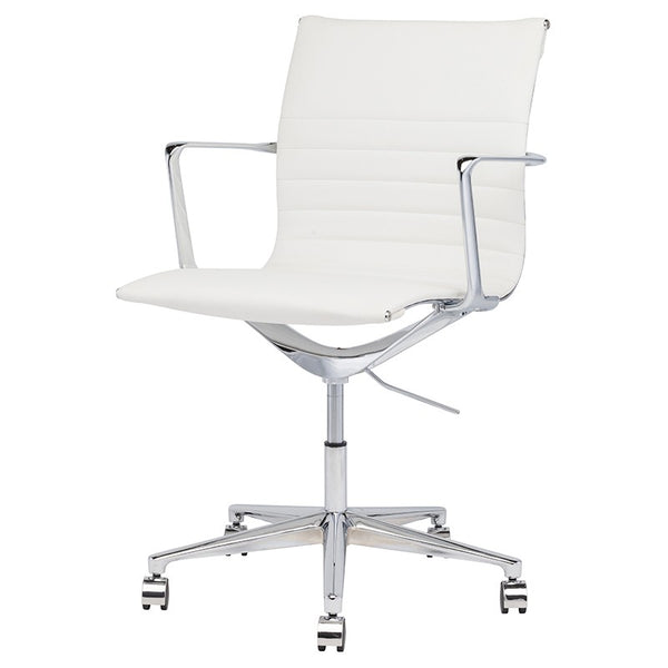 ANTONIO OFFICE CHAIR WHITE