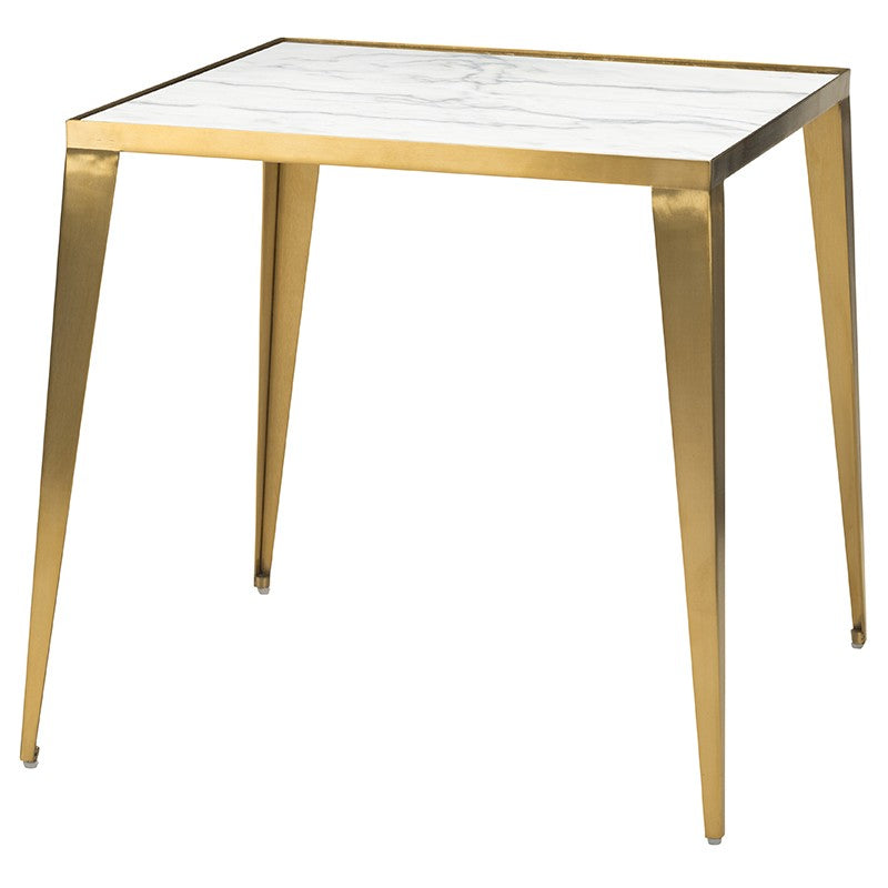MINK SIDE TABLE WHITE - Dream art Gallery