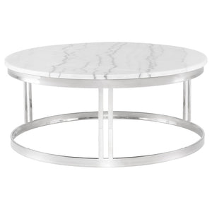 NICOLA COFFEE TABLE WHITE - Dream art Gallery