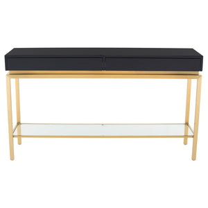 ISABELLA CONSOLE BLACK - Dreamart Gallery