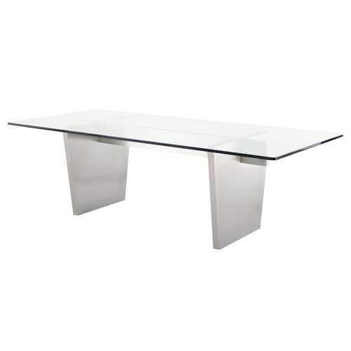 AIDEN DINING TABLE GLASS
