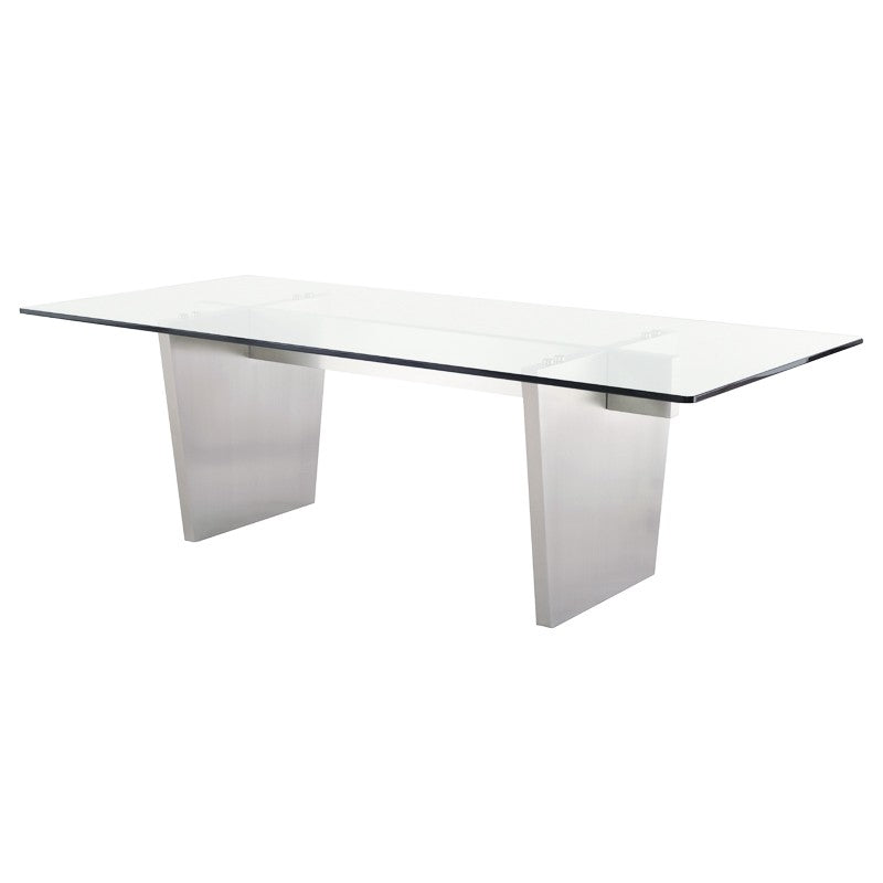 AIDEN DINING TABLE GLASS - Dream art Gallery