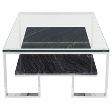 Load image into Gallery viewer, TIERRA COFFEE TABLE BLACK WOOD VEIN - Dream art Gallery