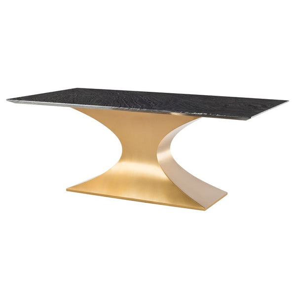 PRAETORIAN DINING TABLE BLACK - Dream art Gallery