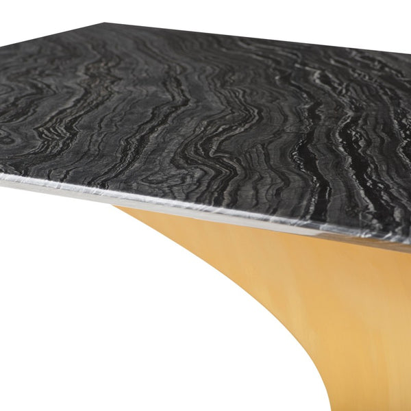 PRAETORIAN DINING TABLE BLACK - Dreamart Gallery