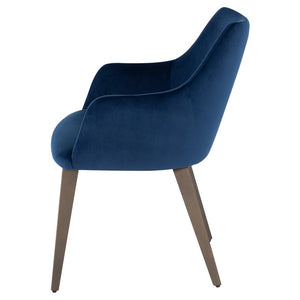 RENEE DINING CHAIR PETROL - Dream art Gallery