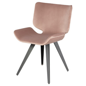 ASTRA DINING CHAIR BLUSH