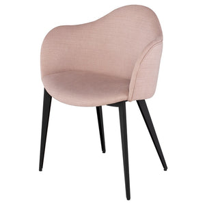 NORA DINING CHAIR MAUVE - Dream art Gallery