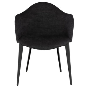 NORA DINING CHAIR COAL