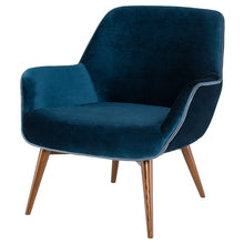 Load image into Gallery viewer, GRETCHEN OCCASIONAL CHAIR MIDNIGHT BLUE - Dreamart Gallery