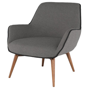 GRETCHEN OCCASIONAL CHAIR SLATE GREY - Dream art Gallery