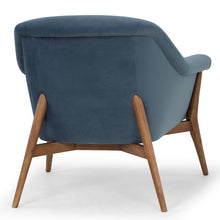 Load image into Gallery viewer, CHARLIZE OCCASIONAL CHAIR DUSTY BLUE - Dream art Gallery