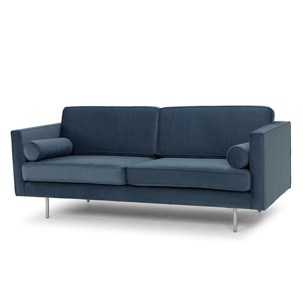 CYRUS SOFA DUSTY BLUE - Dream art Gallery